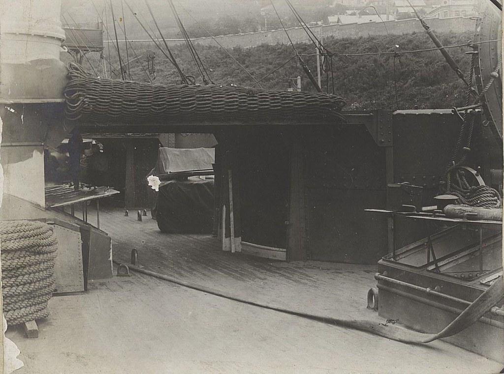 19. Вид части палубы корабля