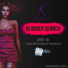 Kaithleen's Blogger Search