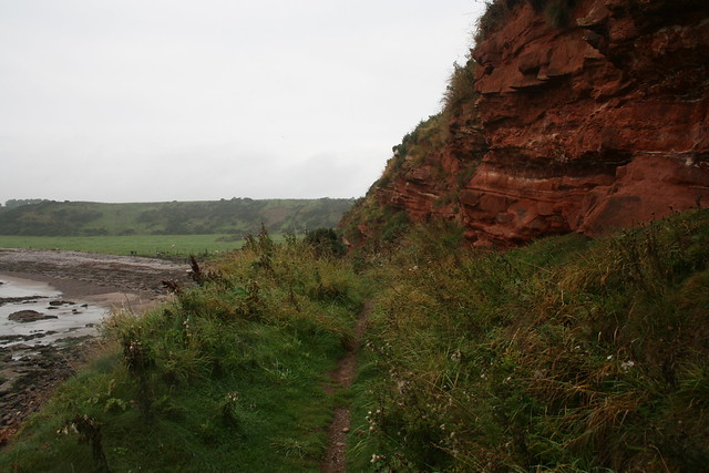 The coast south of Johnshaven