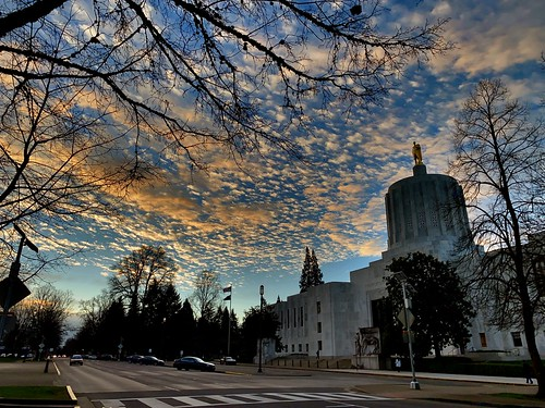 oregon salem sunrise capitol scenicoregon oregondot