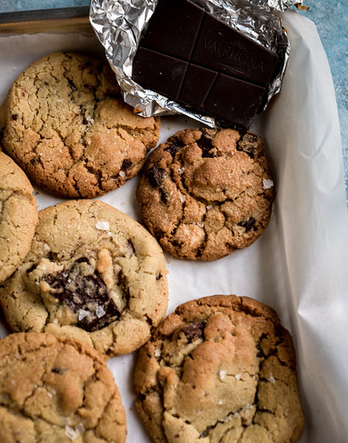 Brown sugar chocolate chunks cookies