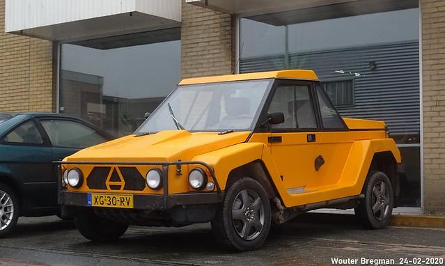 Africar pick-up 1987