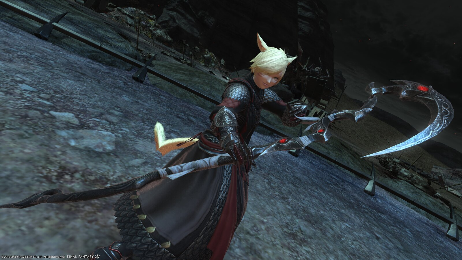 Final Fantasy XIV: Shadowbringers - Ruby Weapon gear on PS4