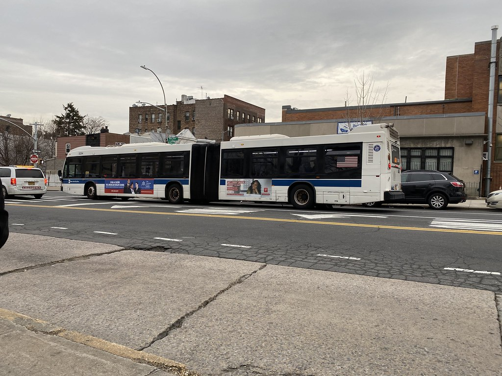 2012 Nova Bus LFSA 5284 - Bx39 To Wakefield-241 St