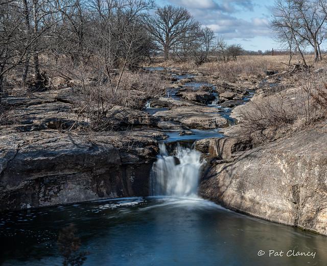 Butcher Falls in Rural Kansas