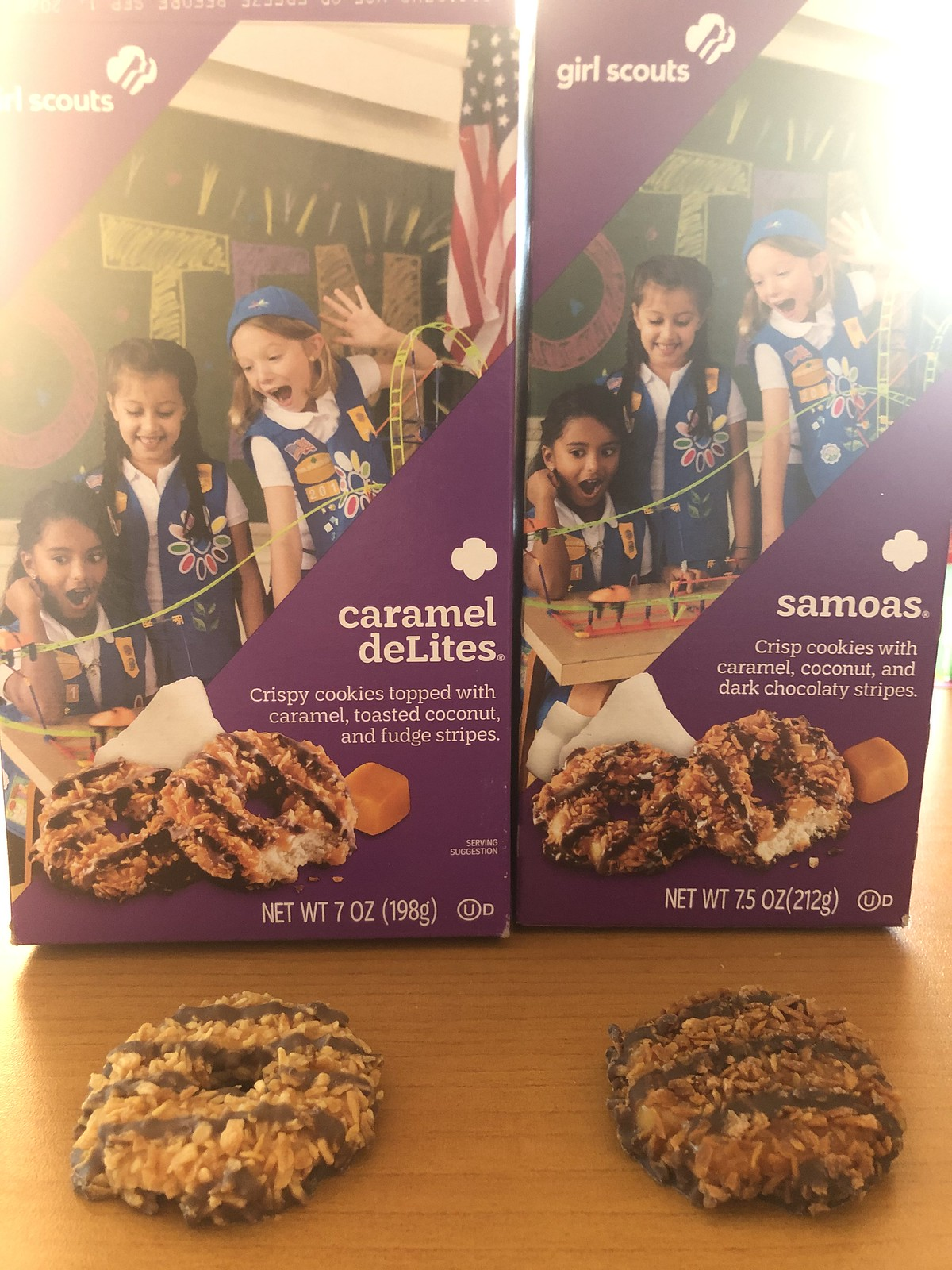 ABC GIRL SCOUT COOKIES