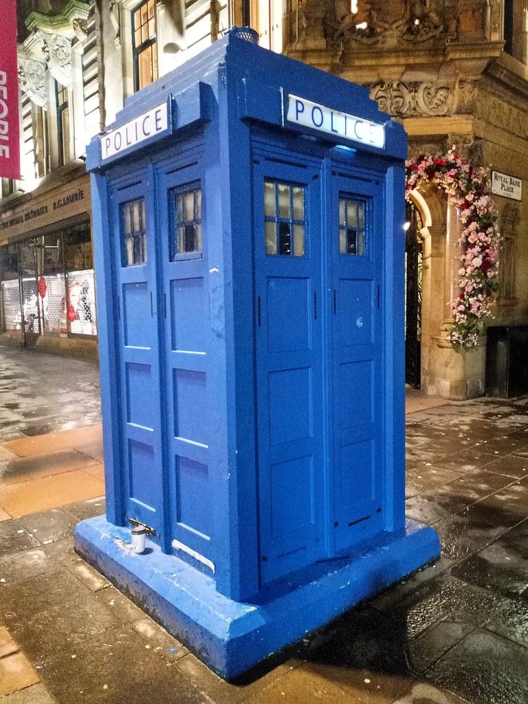 Nocturnal TARDIS