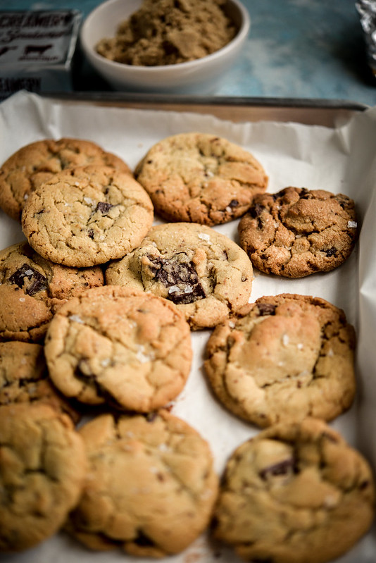 Brown sugar chocolate chunks cookies