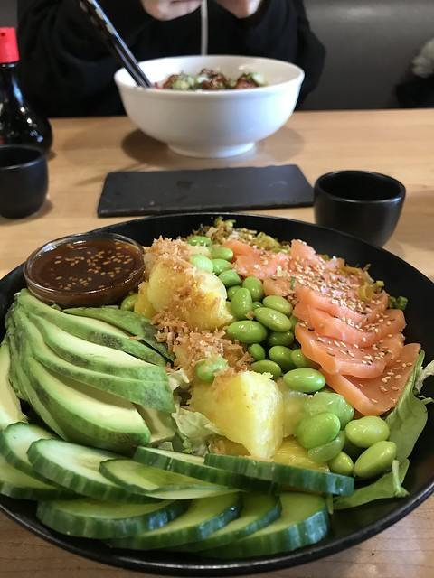 Poke Bowl from Sushi Taxi, Montreal