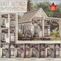 Trompe Loeil - Guest Cottages Gacha for The Arcade March