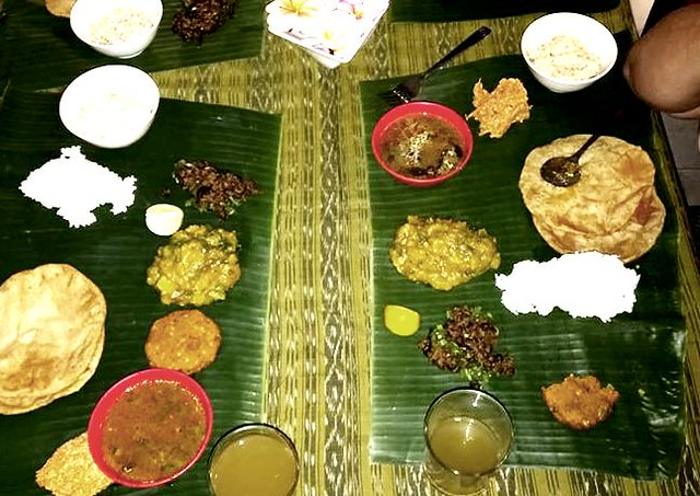Special thali dinner