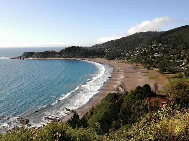 Playa San Ignacio, Valdivia, Región de Los Ríos, Chile