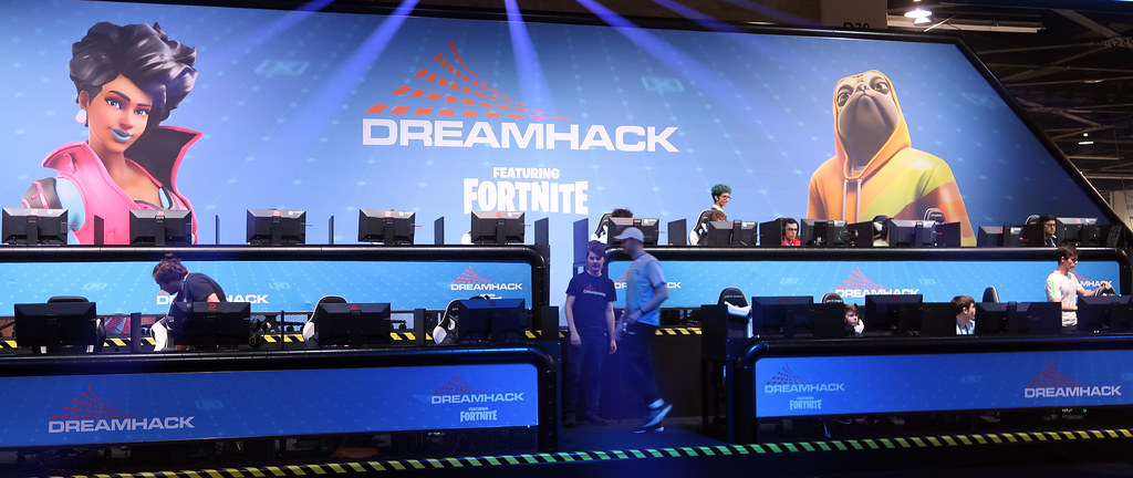 Fortnite at DreamHack Anaheim