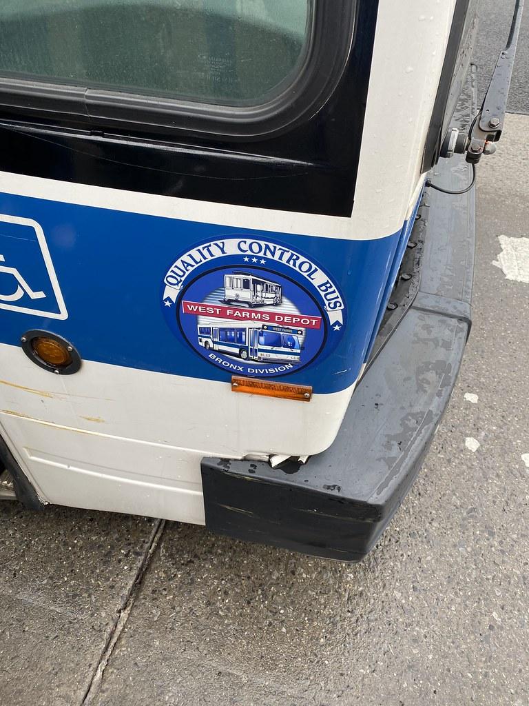 2012 Nova Bus 5277 - Bx36 To Washington Heights G W Bridge