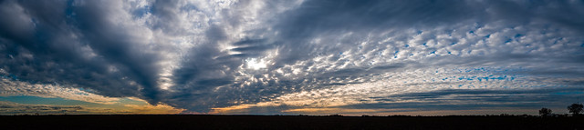 2020 Visions 2.19 ~ Sunset near West, Texas