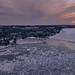 Sunset over Little Traverse Bay, Petoskey, Michigan