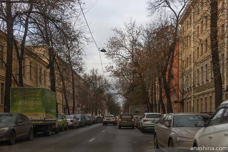 Припаркованные машины, Санкт-Петербург