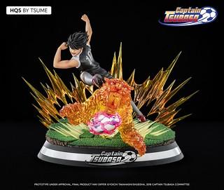 踢球殺人鼻祖!Tsume-Art HQS系列《足球小將翼》日向小次郎:猛虎射球 1/6比例 全身雕像作品(Kojiro Hyuga : Tiger Shot)
