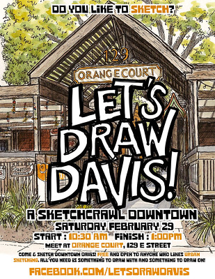 Let's Draw Davis! Feb 29 2020
