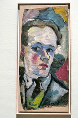 Self Portrait by Theo van Doesburg (1914)