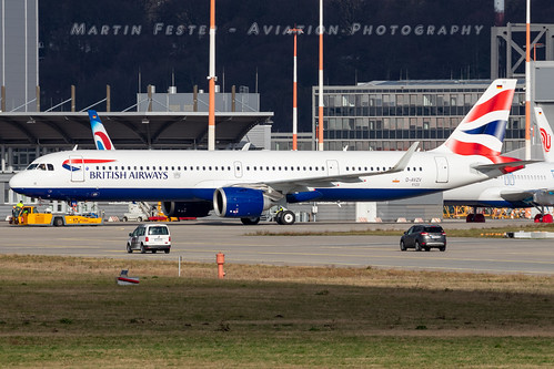 D-AVZV // British Airways // A321-251NX // MSN 9123 // G-NEOZ | by Aviation Photography thanks for 2.5 Mio views