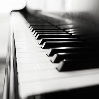 Black and white music ...