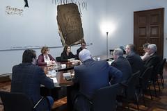 dt., 25/02/2020 - 16:38 - Barcelona 25.02.2020 Trobada amb la Junta de la Fundació Barcelona Comerç.   Foto: Laura Guerrero/Ajuntament de Bcn.