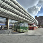 Vintage buses at Preston Bus Station