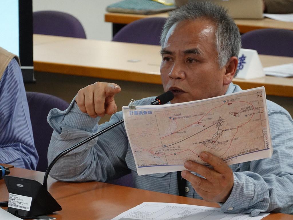 金山社區發展協會理事長羅政宏說,當地地質相當脆弱,復礦恐加劇惡化。孫文臨攝