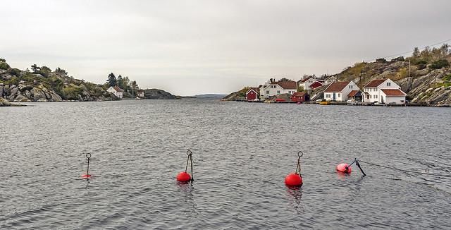 High water in Brekkestø.