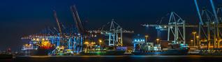 Hamburg Harbour Tollerort