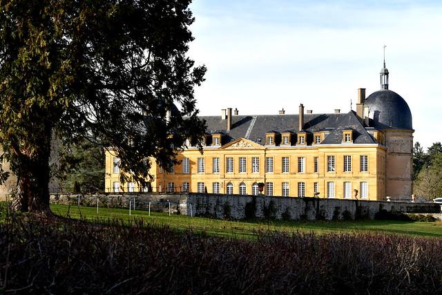 Palinges (71) : château de Digoine
