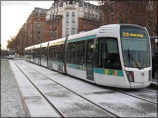 Alstom Citadis 402 – RATP (Régie Autonome des Transports Parisiens) / STIF (Syndicat des Transports d'Île-de-France) n°314