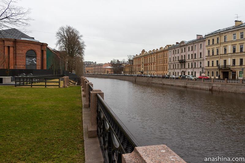 Новая Голландия, Мойка и дома вдоль набережной, Санкт-Петербург