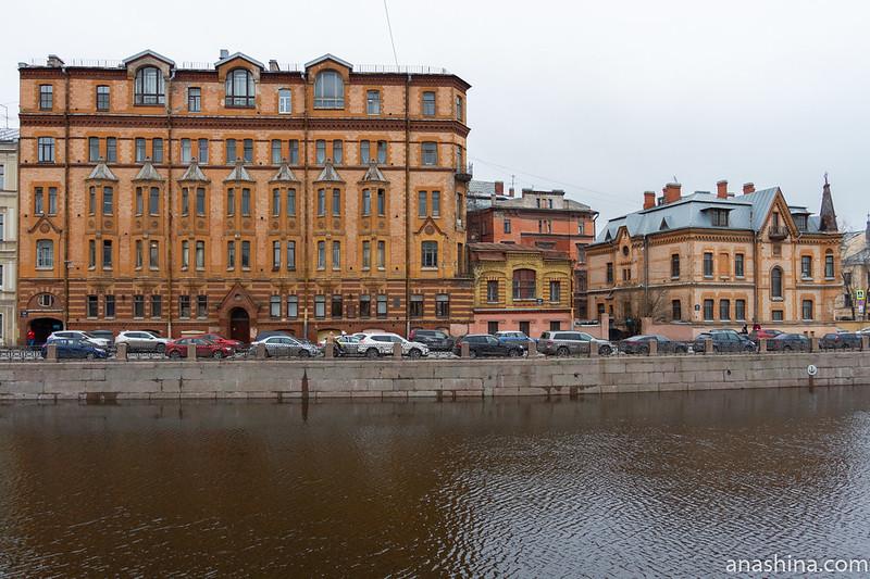 Набережная реки Мойки,Санкт-Петербург