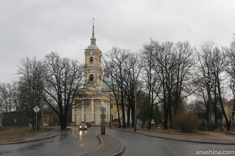 Церковь Илии Пророка на Пороховых, Санкт-Петербург