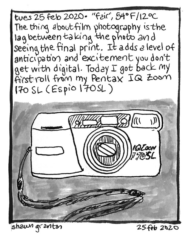 Journal Comic, 25 Feb 2020. Anticipation.