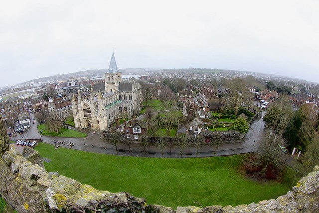 Rochester through a fisheye lens