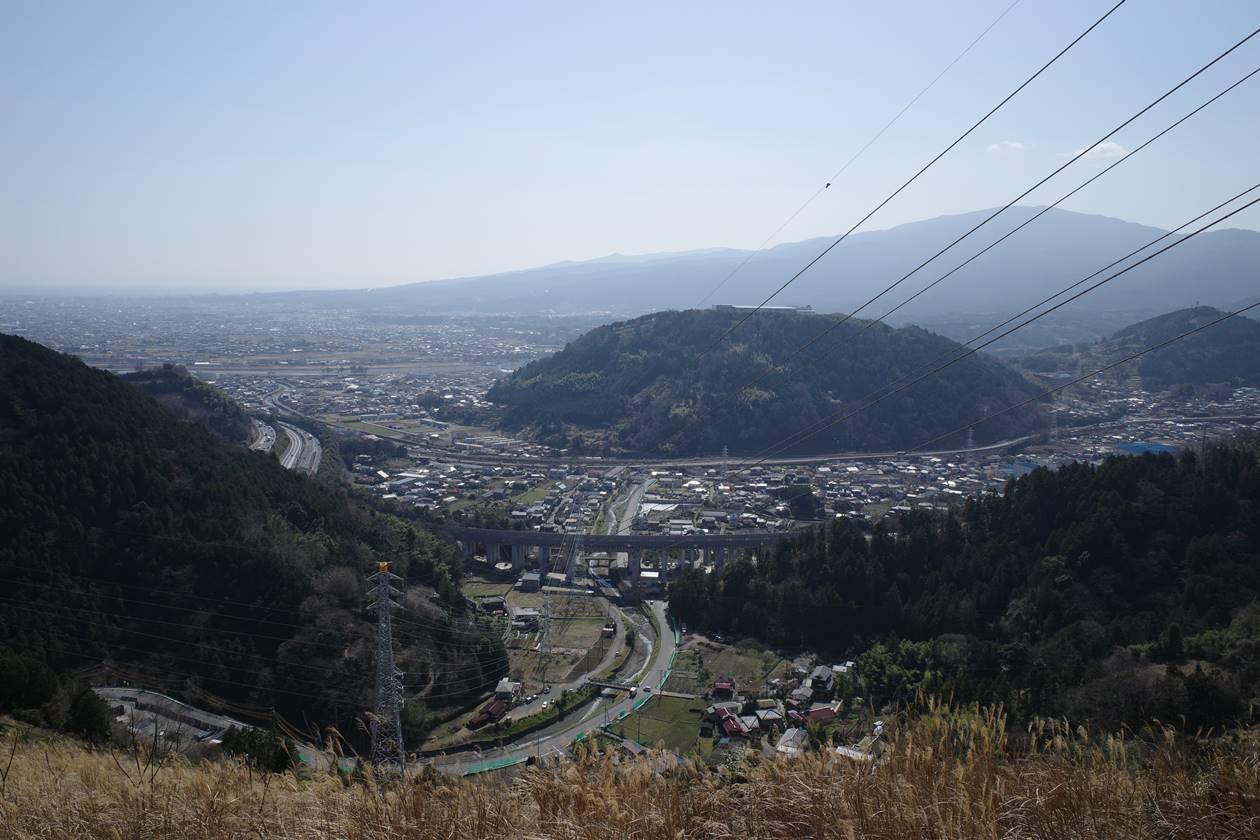 高松山から眺める街の風景