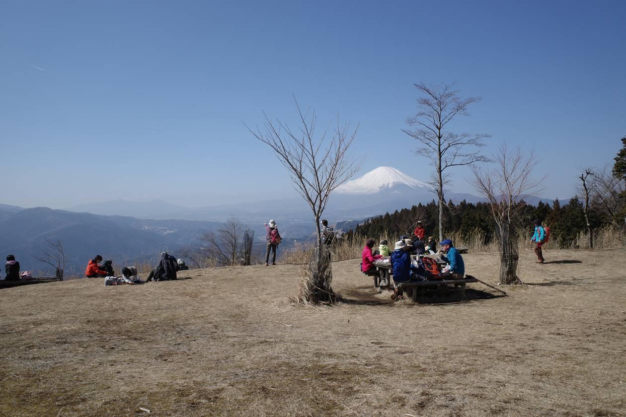 高松山 広い草原の山頂