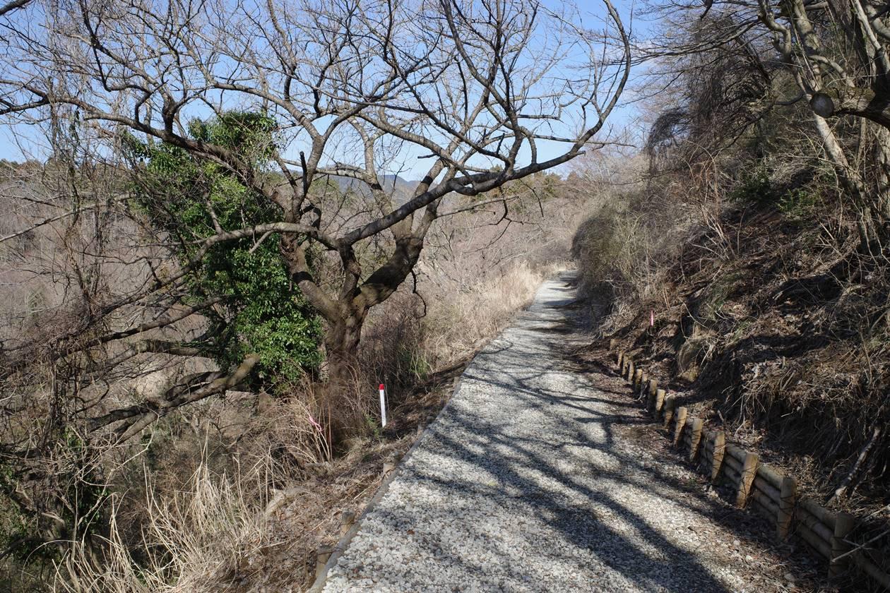 最明寺史跡公園から高松山へ