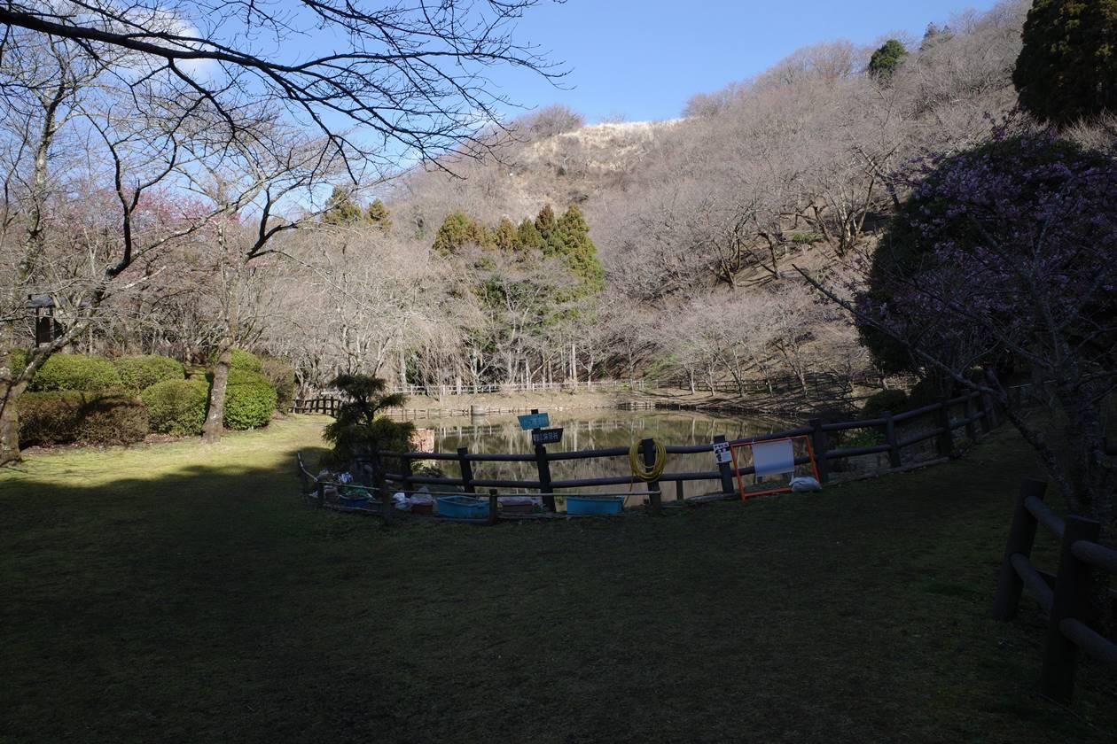 最明寺史跡公園内