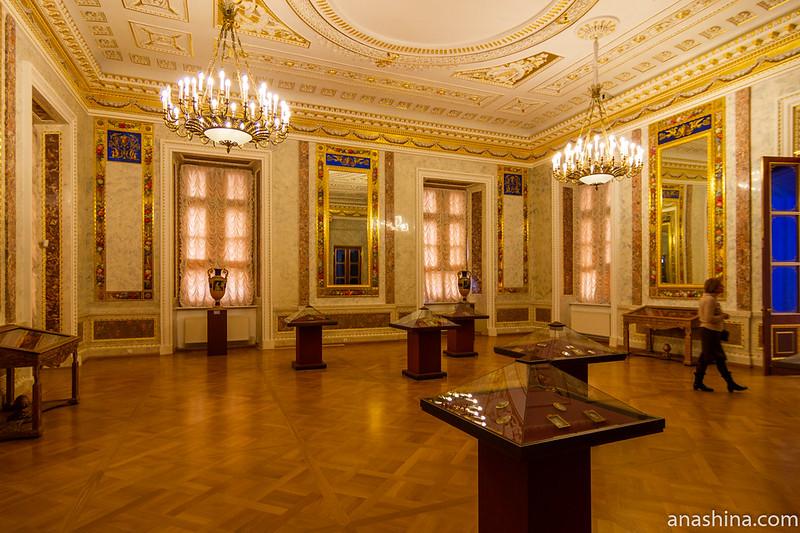 Парадная спальня императрицы Марии Федоровны в Михайловском замке, Санкт-Петербург