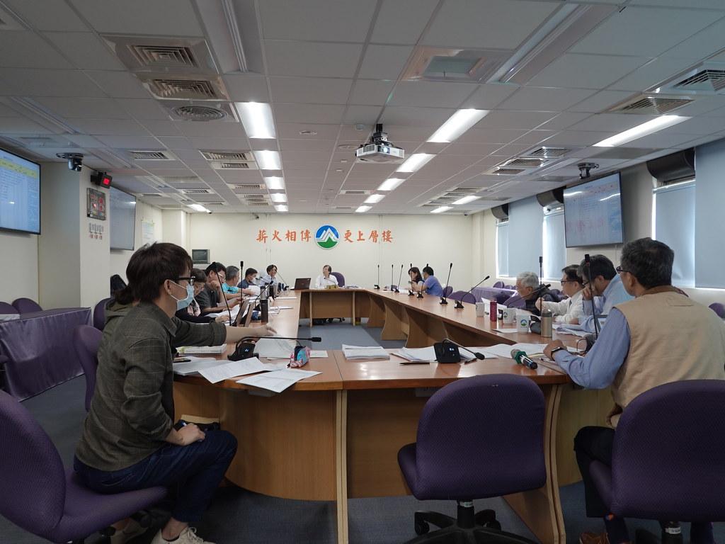 環保署今(26日)進行羅慶仁及羅慶江復礦環評案。孫文臨攝