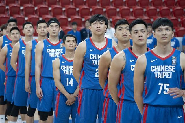 中華隊唱國旗歌