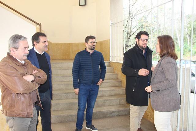 Deputada ao Parlamento Europeu, Lídia Pereira visita a Universidade de Coimbra