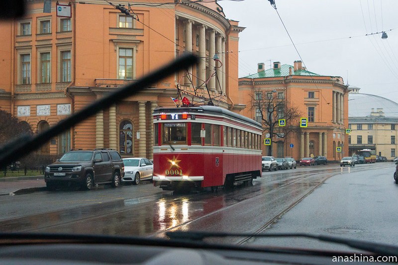 Туристический трамвай, Санкт-Петербург