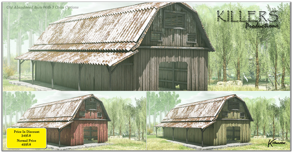 Old Abandoned Barn On Discount @ Cosmo Starts from 24th Feb Till 7th March
