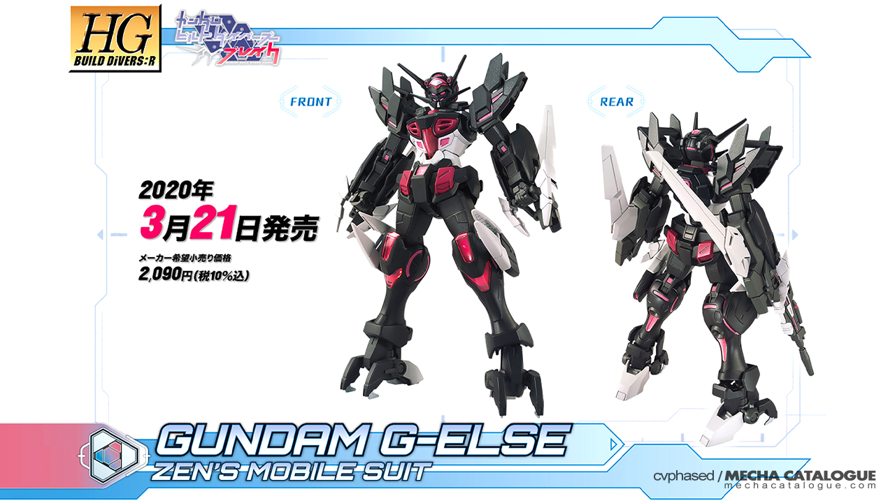 HGBD:R Gundam G-Else: Features and Gimmicks
