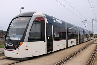 Edinburgh Trams: 259 Saughton